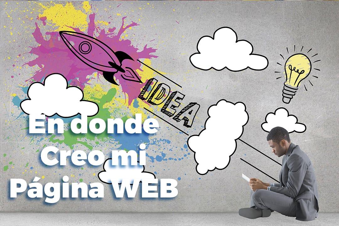 donde crear pagina web