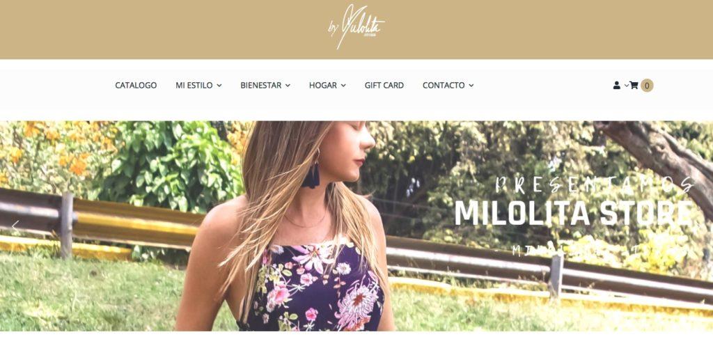 milolita store tienda virtual