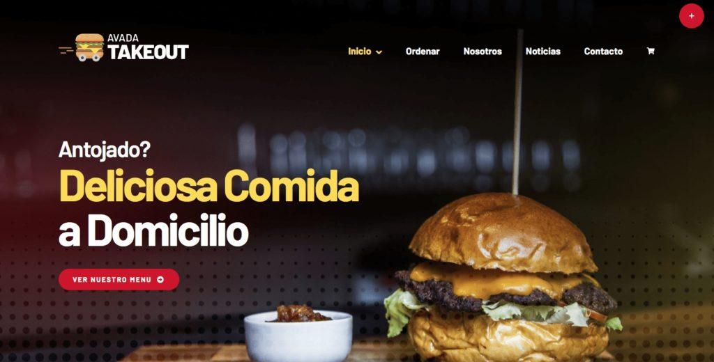 tienda virtual comidas